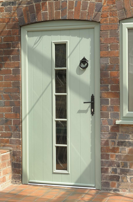 Composite doors for long lasting wood effect front doors for Wood effect upvc french doors