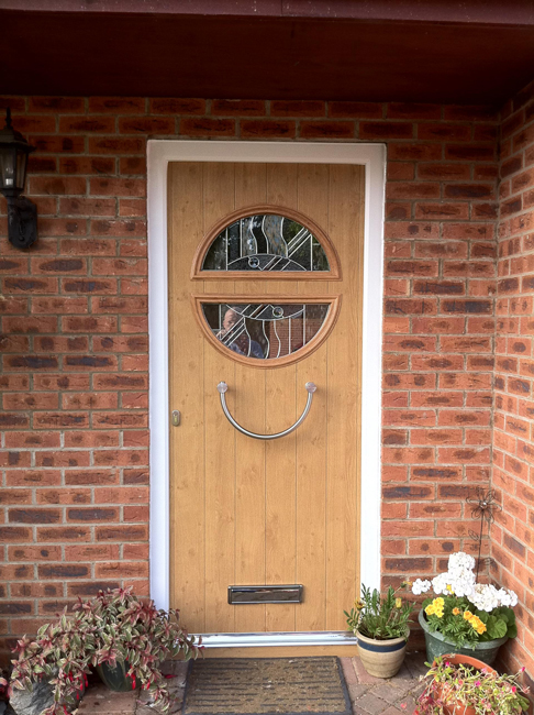Composite doors for long lasting wood effect front doors