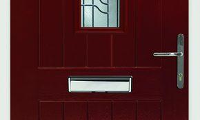 MALVERN - Rich Red - Opal Glass