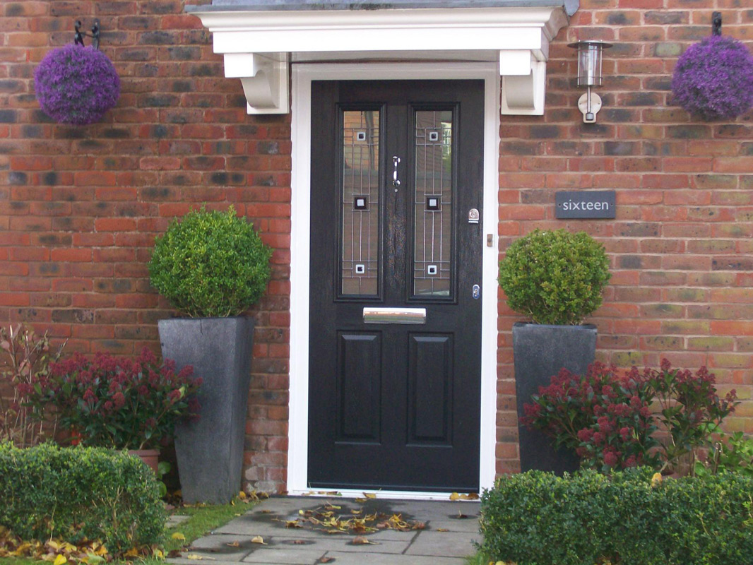 Composite doors for long lasting wood effect front doors for Composite front doors