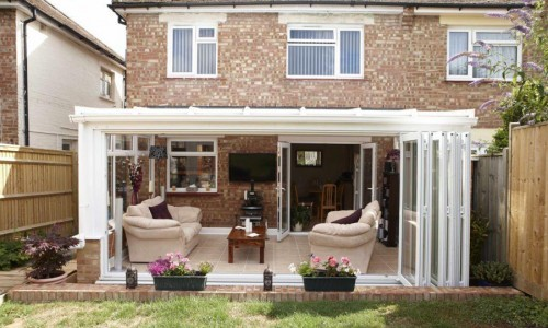 Conservatory-with-bifold-doors